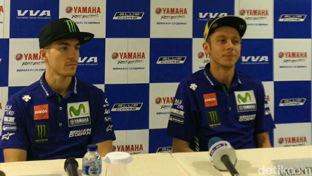 Di Jakarta, Rossi dan Vinales Ungkap Target Mereka