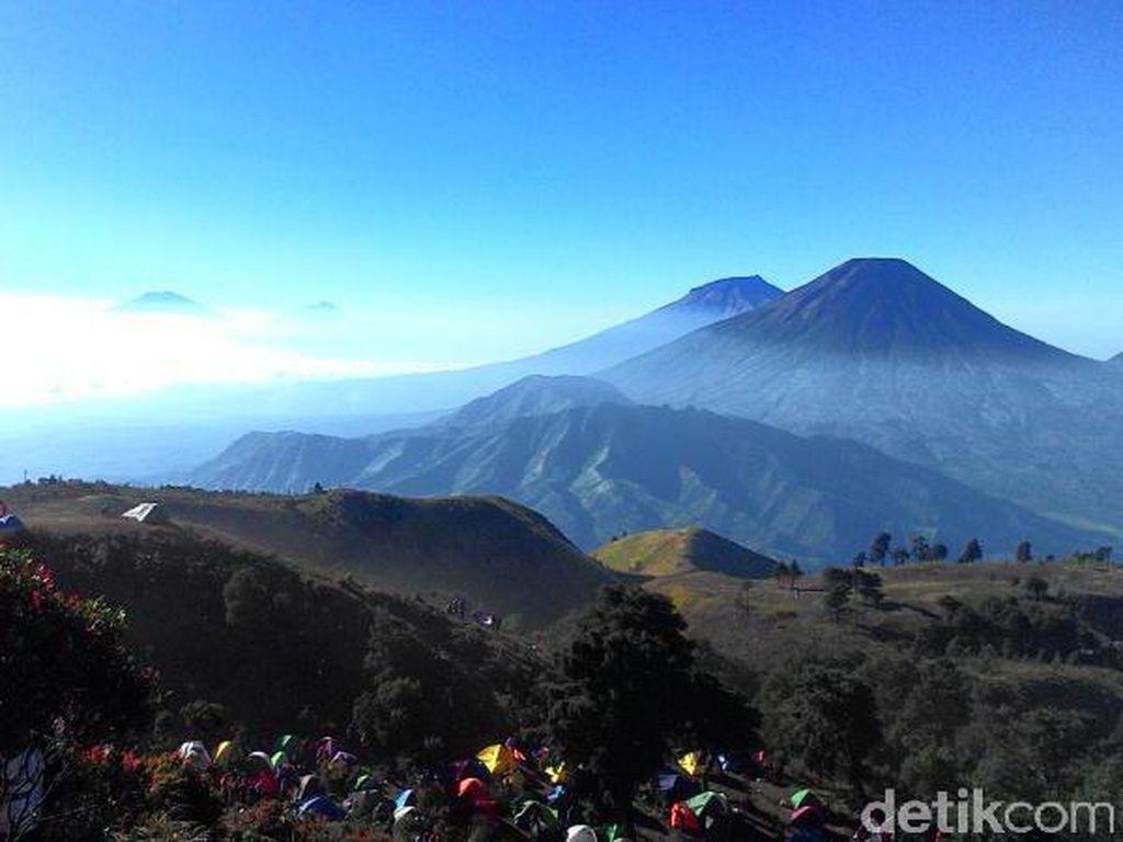 Gunung Prau-Bismo Dibuka Lagi, Pendaki Luar Wonosobo Wajib Tes Corona