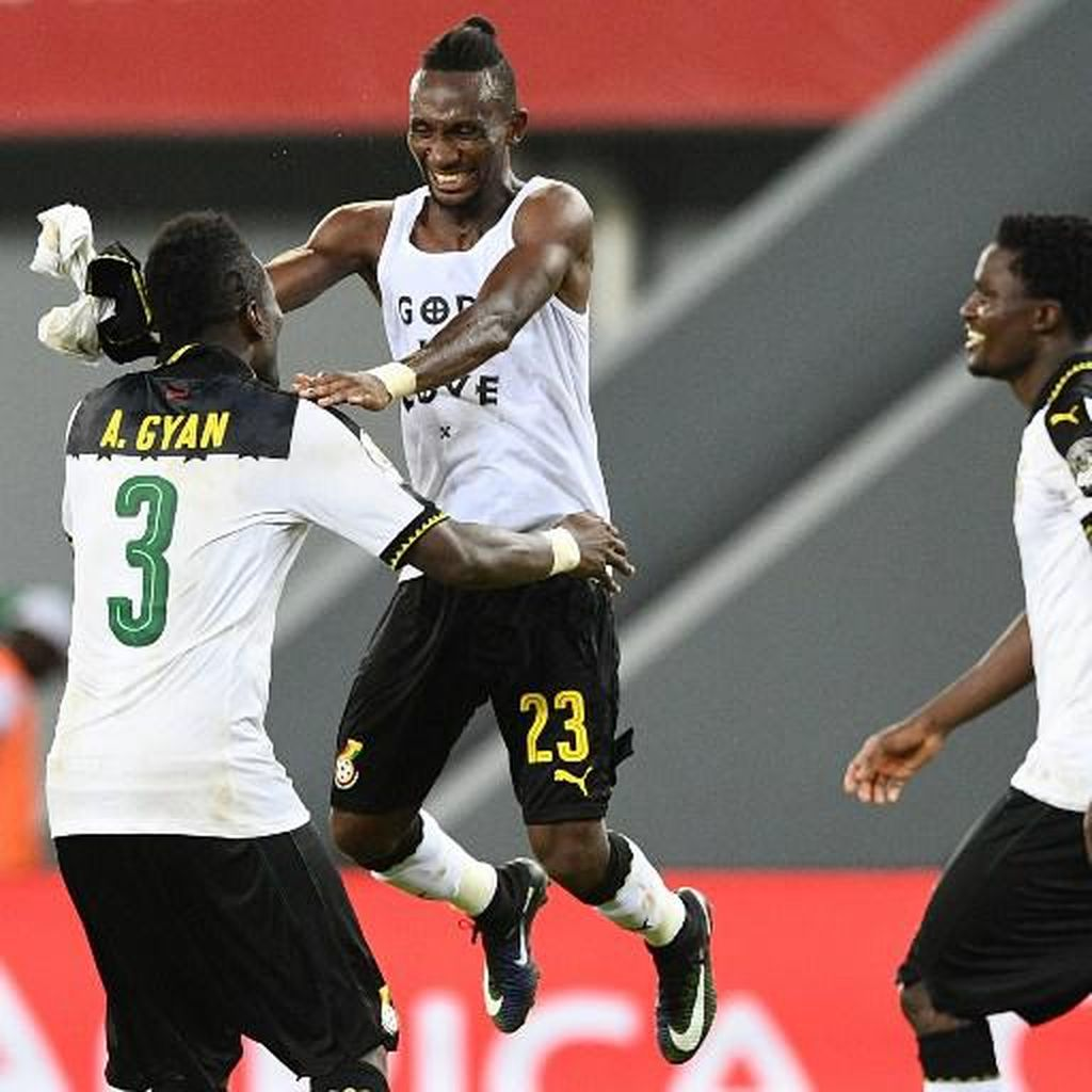 Ghana Lolos ke Perempatfinal, Mesir Kalahkan Uganda