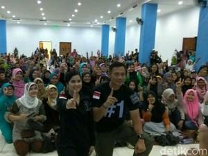 Cara Agus Yudhoyono Gaet Pemilih Pemula di DKI