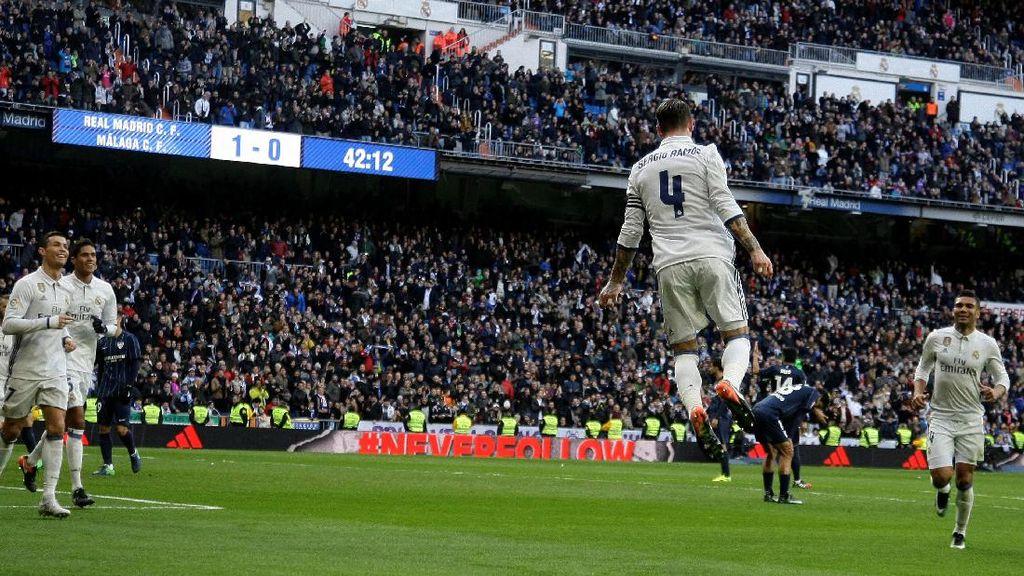 Ramos ke Suporter Madrid: Tim Butuh Didukung, Bukan Dicemooh