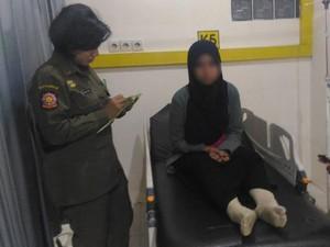 Satpol PP Dampingi Gadis Tunawicara yang Mengaku Diculik