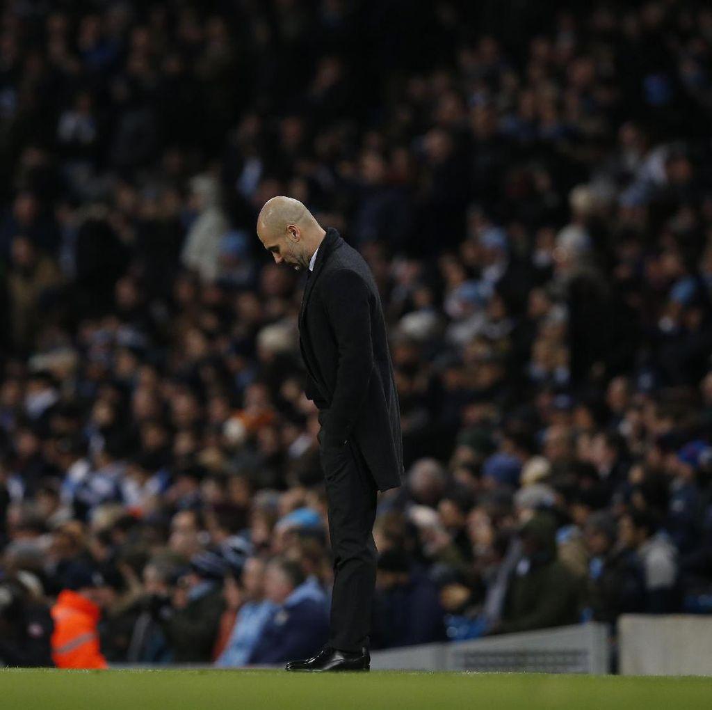 City Gagal Menang, Guardiola Tak Salahkan Wasit