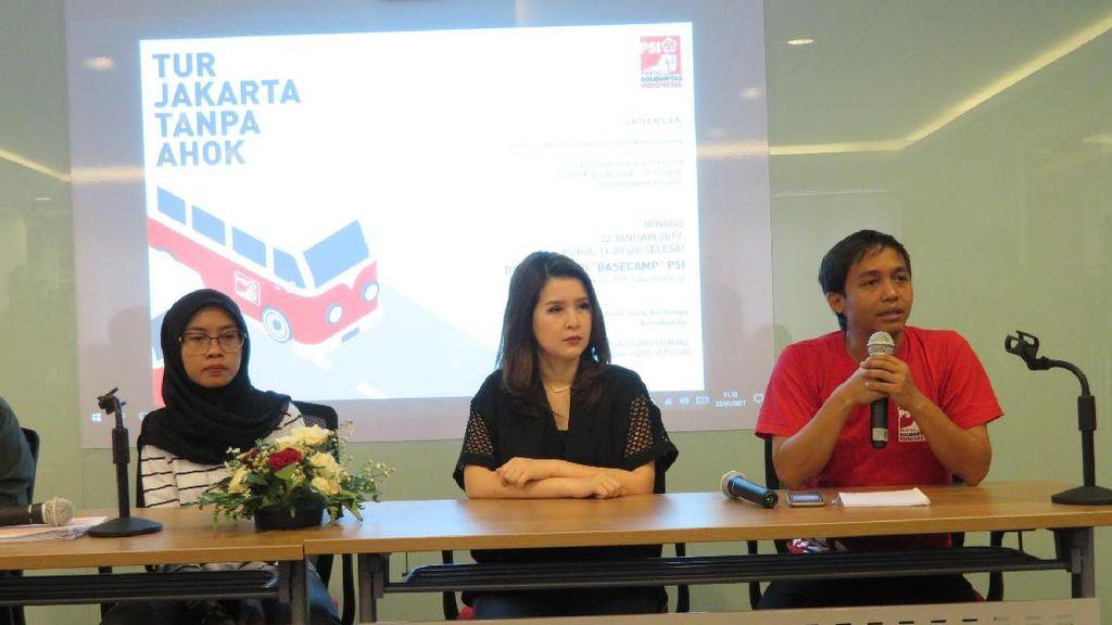 PSI: Jakarta Tanpa Ahok, PKL Tanah Abang Kembali Jualan di Trotoar