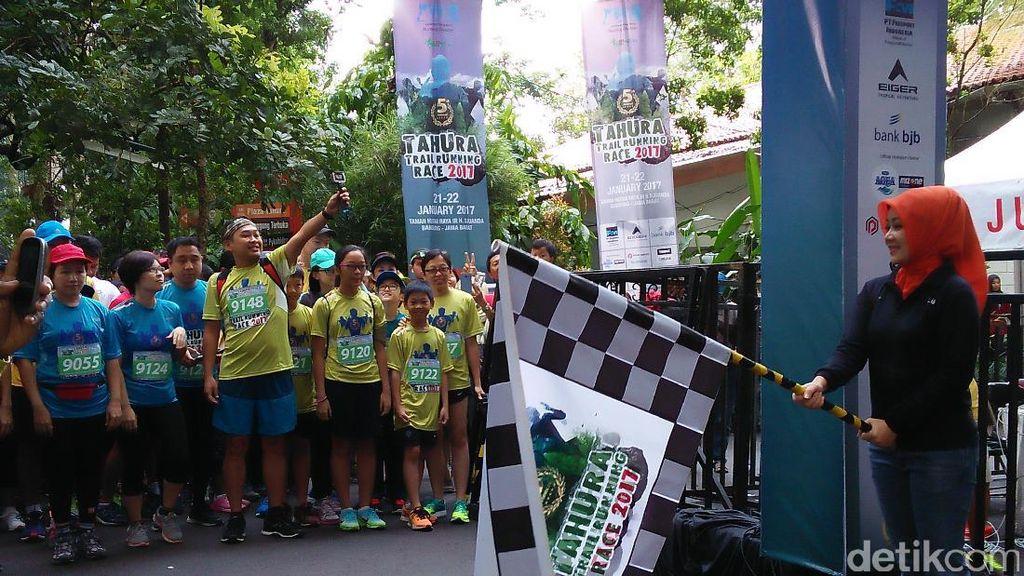 Tahura Trail Running Race 2017 Digelar, Pesertanya Nyaris 2 Ribu Orang