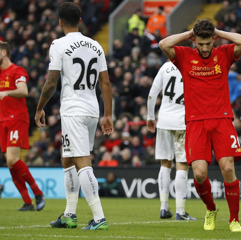 Tim-Tim Papan Tengah ke Bawah Masih Menyulitkan Liverpool Musim Ini