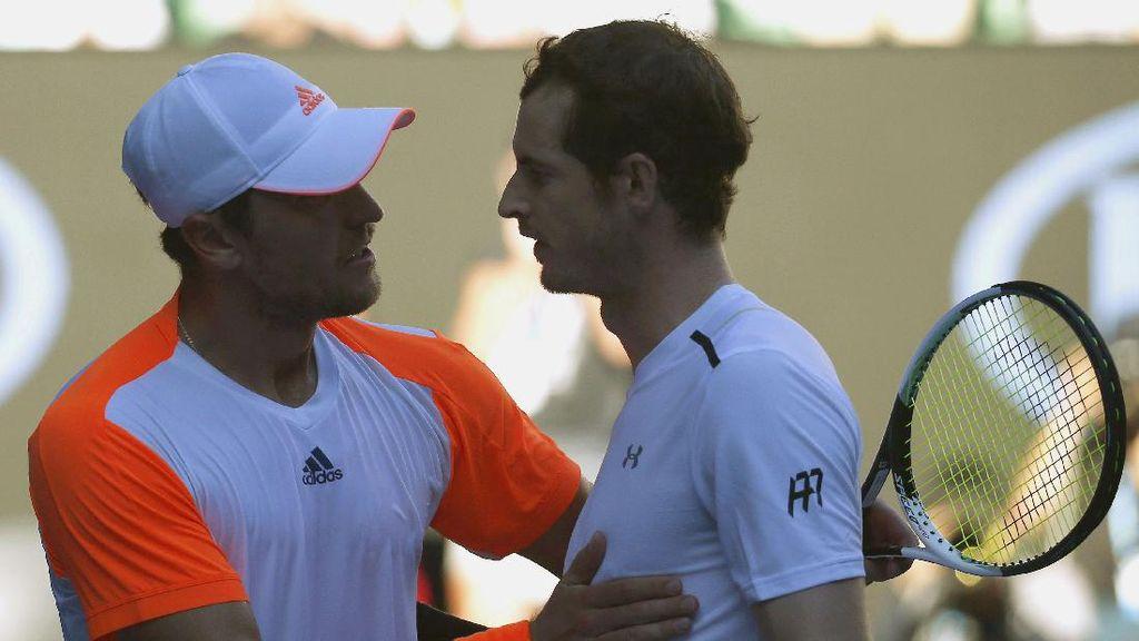 Andy Murray Tersingkir