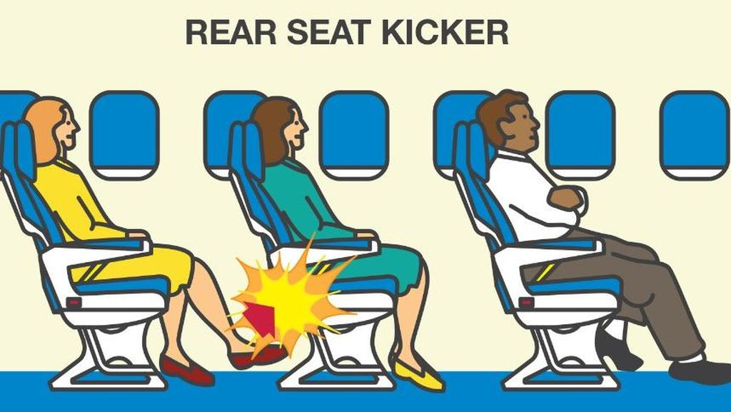 Inilah Tipe Penumpang Paling Menyebalkan di Pesawat (1)