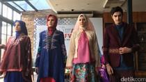 Shafira Angkat Sulam Bukittinggi Bertabur Swarovski untuk IFW 2017