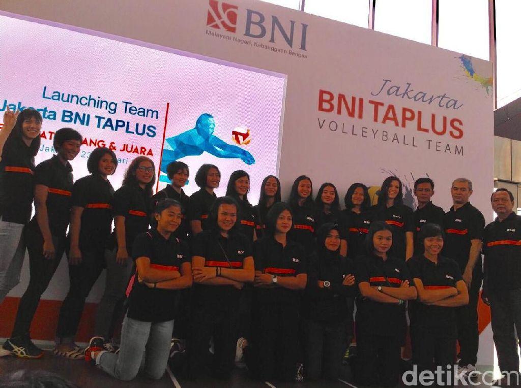 Comeback, Putri Jakarta BNI Taplus Bertekad Ulang Sejarah Manis