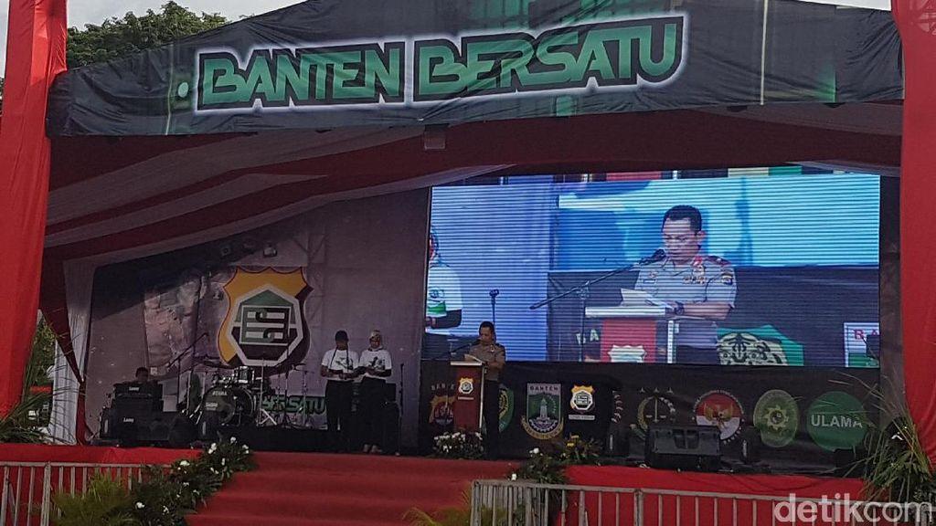 Polda Banten Luncurkan Aplikasi Banten Bersatu demi Mudahkan Pelayanan