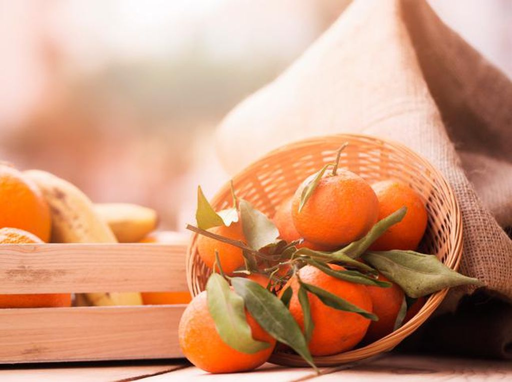 Mengonsumsi Jeruk Mandarin Saat Imlek? Ini Manfaatnya