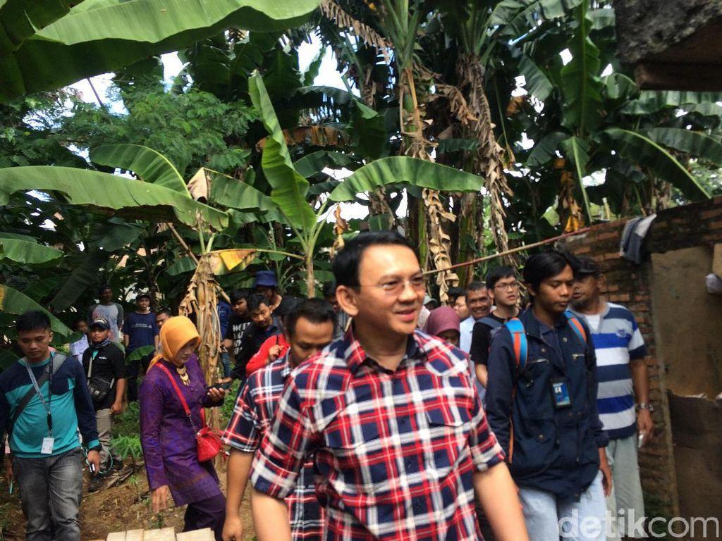 Warga Keluhkan Banjir di Kramat Jati, Ahok: Kita Bereskan Hulunya