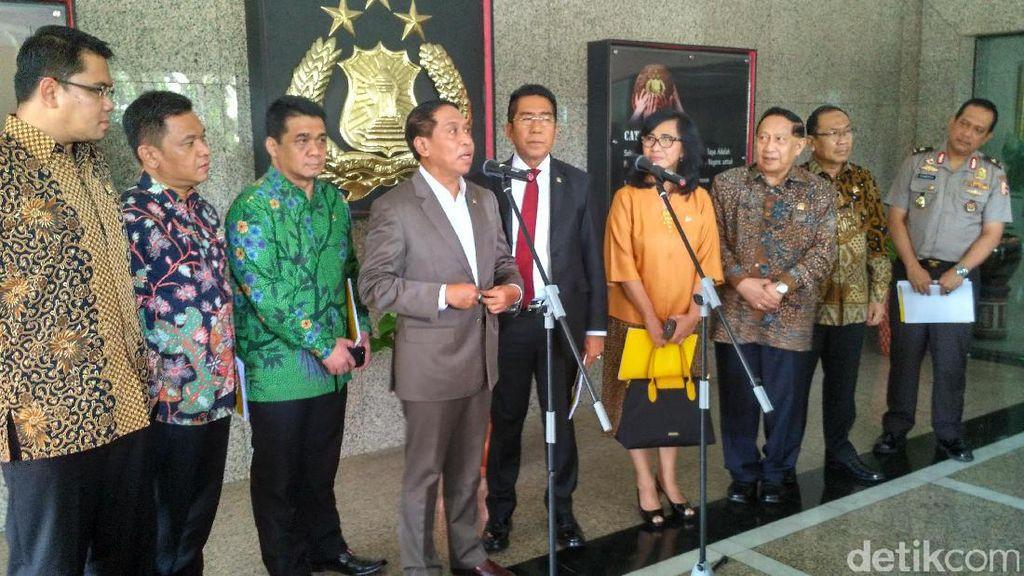 Sambangi Mabes Polri, Komisi II DPR Bahas Pengamanan Pilkada