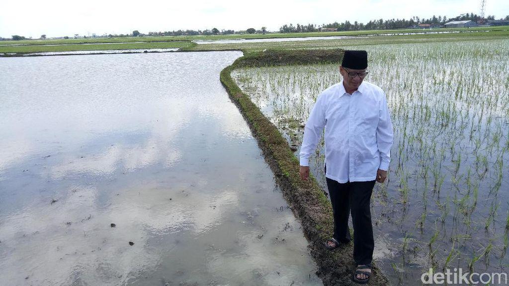 Cagub Banten Wahidin Janji Bangun Tanggul di Kabupaten Tangerang