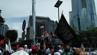 Pelawak Kiwil Ikut Aksi FPI di Depan Polda Metro Jaya