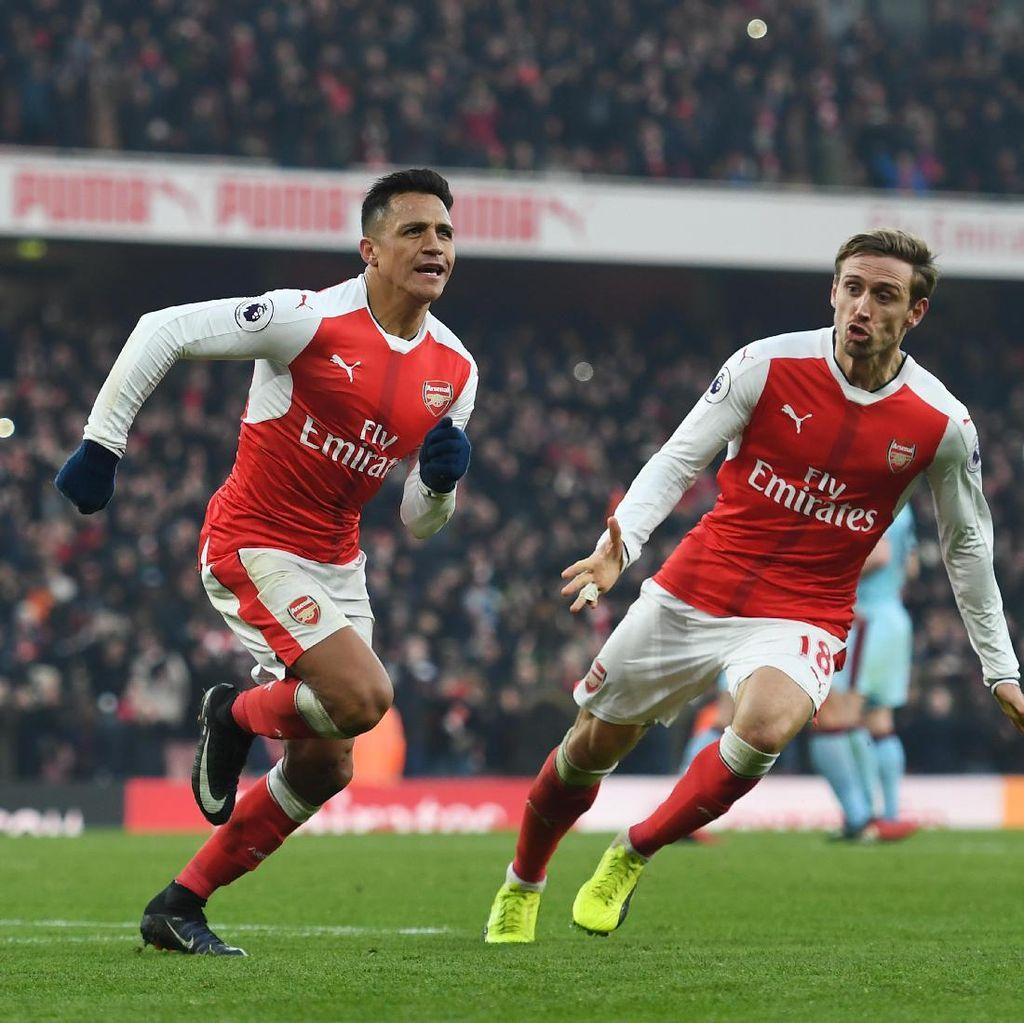 Arsenal Tak Kenal Kata Menyerah