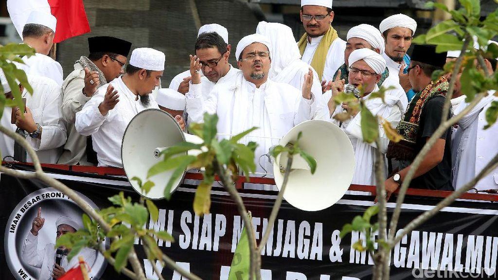 Habib Rizieq Minta Massa FPI Polisikan Para Penista Agama