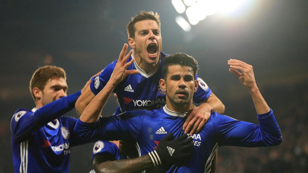 Diego Costa Salah Satu Striker Terbaik, Wajar Jadi Perbincangan
