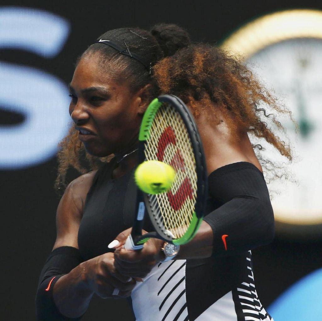 Serena Lolos ke 8 Besar