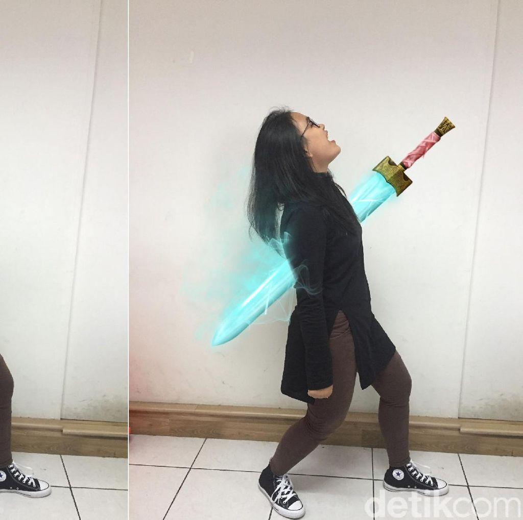 Cara Buat Foto Efek Pedang Goblin