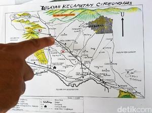 Kata Saksi, Begini Gambar dan Denah Kota Rahasia di Sukabumi