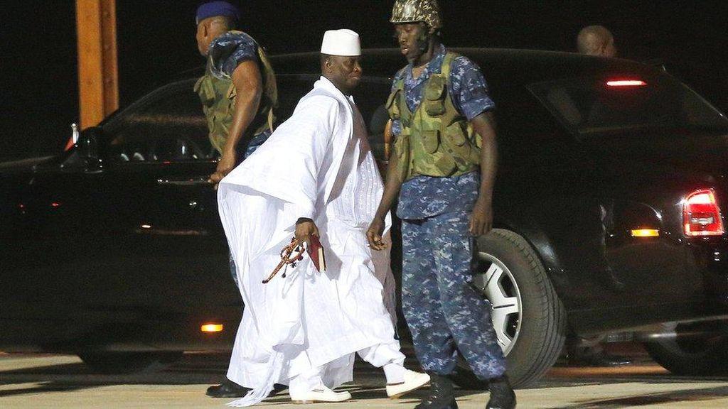 Presiden Lama Gambia Kabur, Rp147 Miliar Raib dari Kas Negara