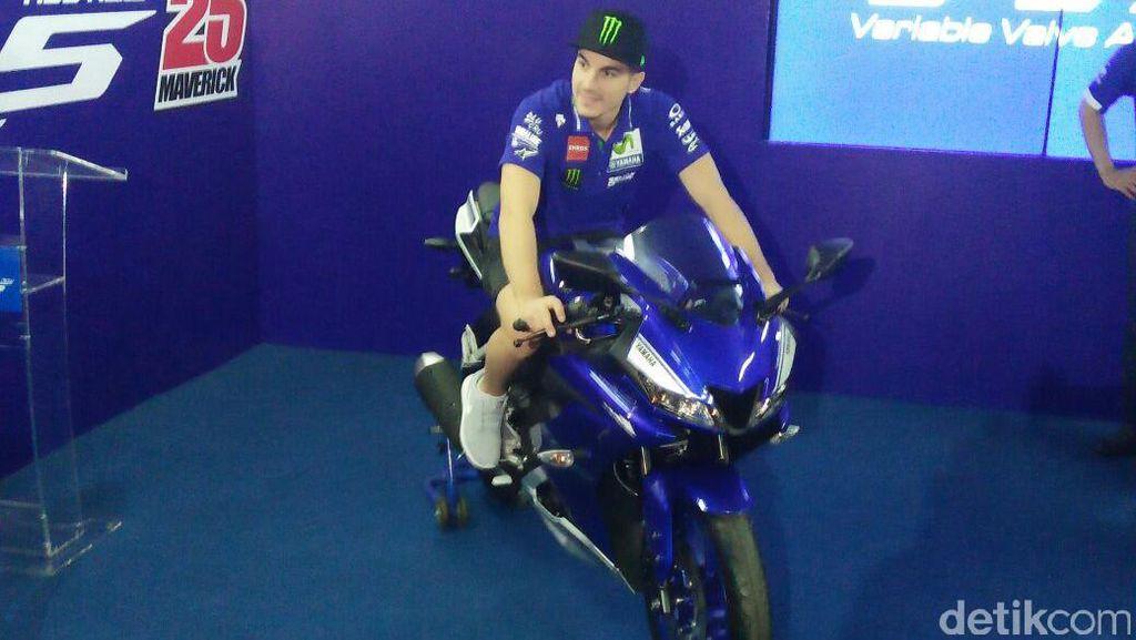 Maverick Vinales Luncurkan Yamaha R15 Terbaru