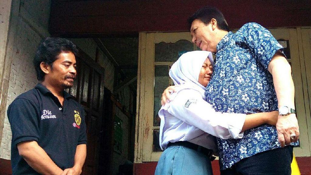 Tajudin 9 Bulan Dibui Tanpa Dosa, Putri Pertama Diberi Beasiswa S1