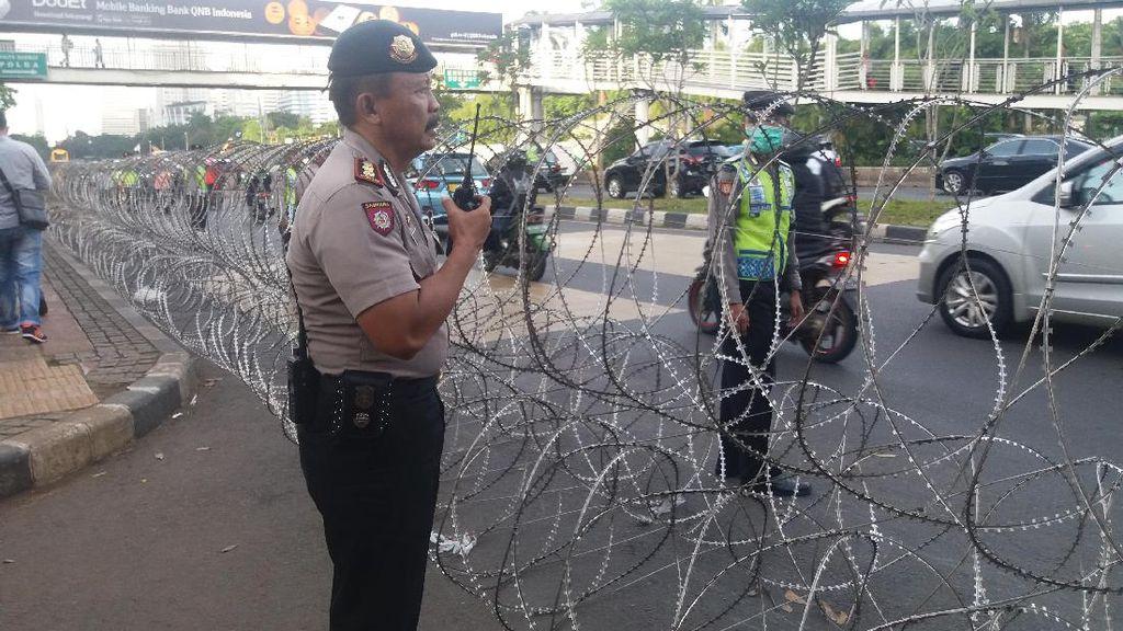 Begini Pengamanan di Polda Metro Jelang Pemeriksaan Habib Rizieq