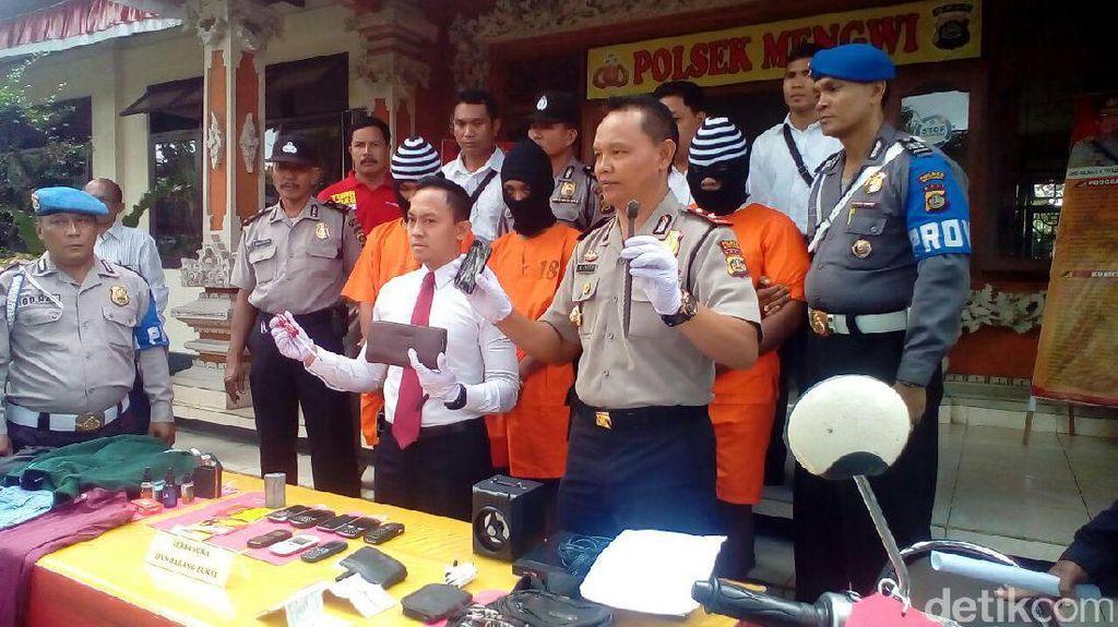 Curi Vape hingga Ponsel di Mengwi Bali, Pelajar Ditangkap Polisi