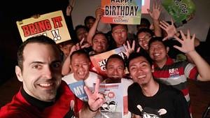 Kenangan Manis Hugo Barra Bersama Fans Xiaomi