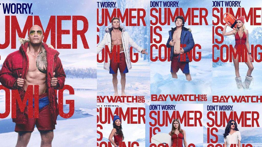 Seksinya Alexandra Daddario dan Kelly Rohrbach di Poster Terbaru Baywatch