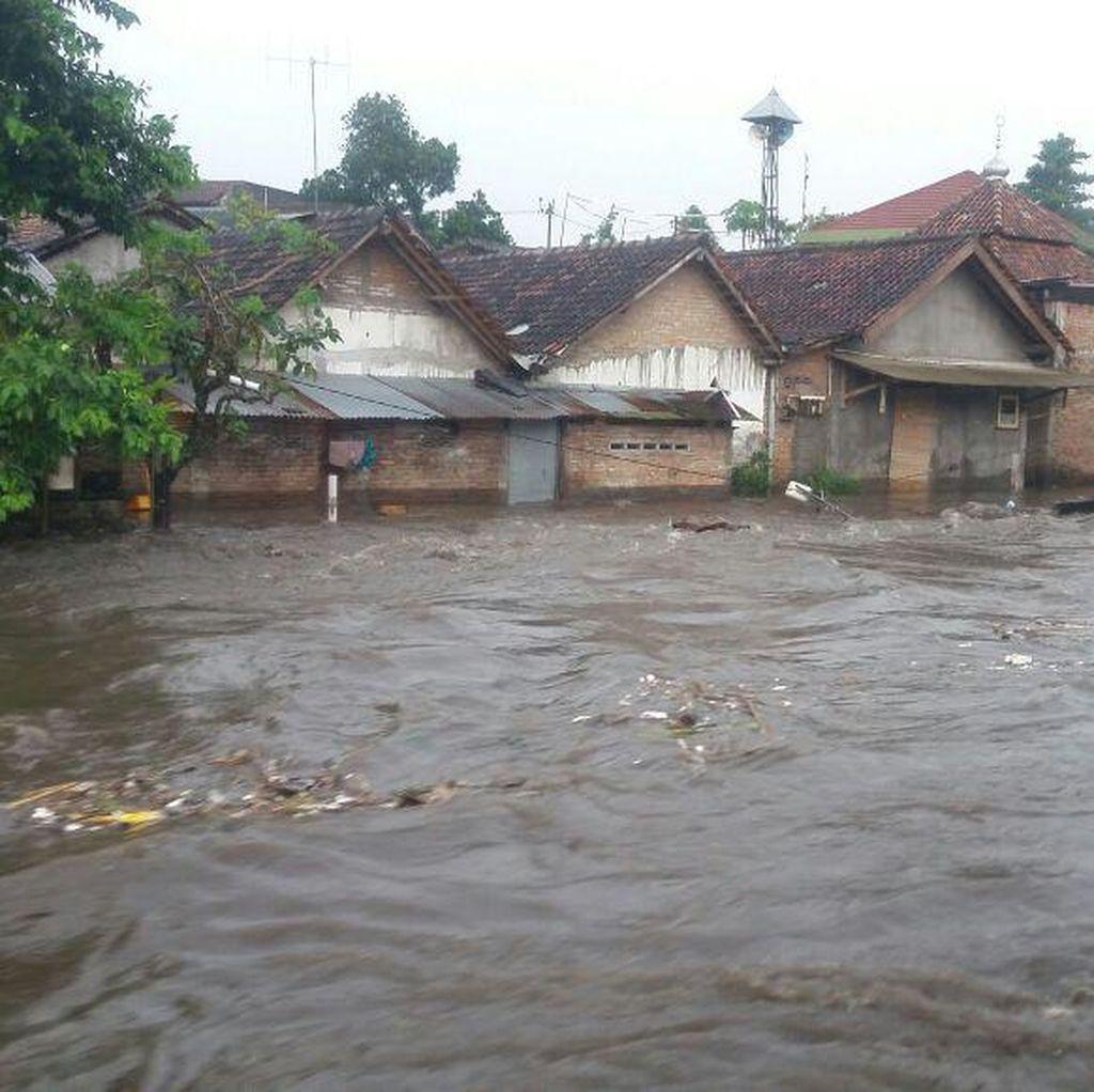 Hujan Deras Dua Jam, Sejumlah Tempat di Yogya Banjir