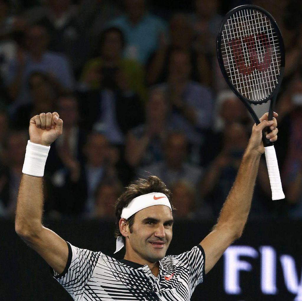 Federer ke Semifinal Usai Sisihkan Zverev