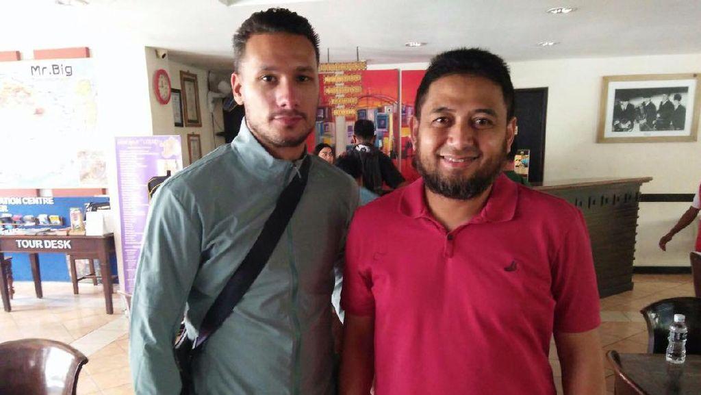 Raphael Maitimo Gabung Pemusatan Latihan PSM di Bali