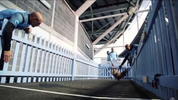 Adu Balap Ayam ala Pemain-Pemain Manchester City