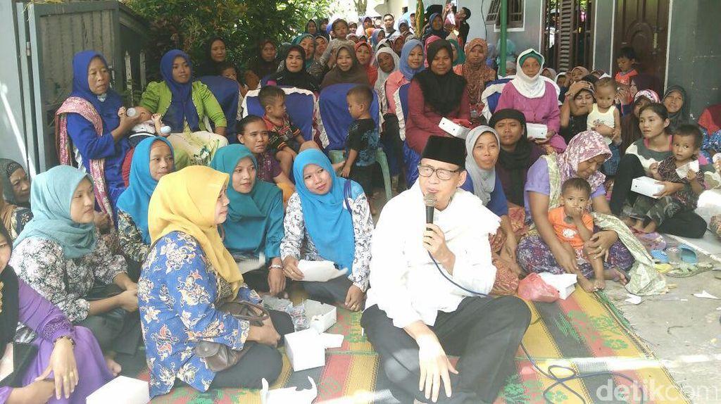 Cagub Wahidin Ingin Insentif Guru Honorer di Banten Ditingkatkan