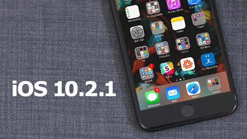 iOS 10.2.1 Bawa Peningkatan Keamanan