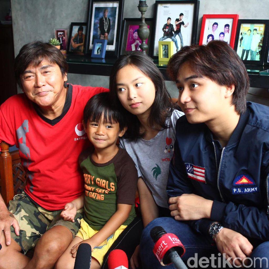Willy Dozan Bahagia Dikaruniai Anak ke-5 Jelang Usia 60 Tahun