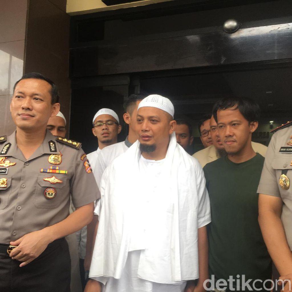 Dijamin Arifin Ilham, Polisi Tangguhkan Penahanan Nurul Fahmi