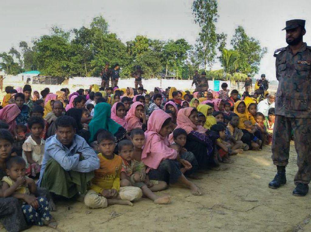 5 Polisi Myanmar dan 7 Warga Rohingya Tewas dalam Serangan di Rakhine