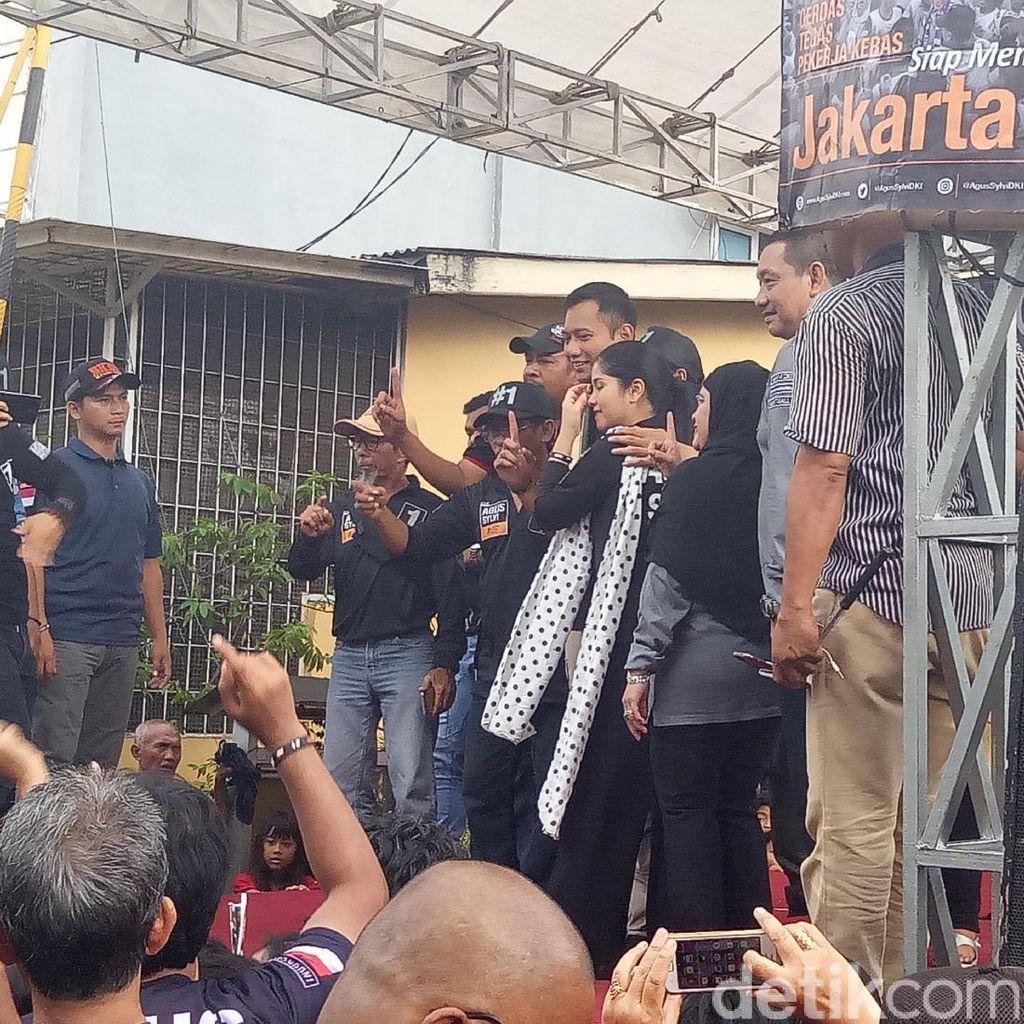 Gerilya di Petojo, Agus Yudhoyono: Saya Ingin Lihat Rakyat Tersenyum