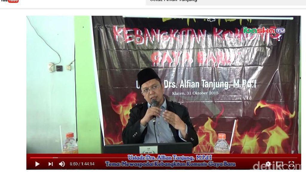 Soal Ceramah PKI, Alfian Tanjung: Saya Sampaikan Karena Saya Tahu