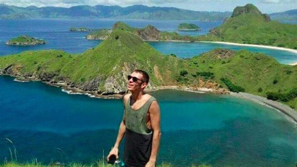 Foto Valentino Rossi di Pulau Padar Beredar di Instagram