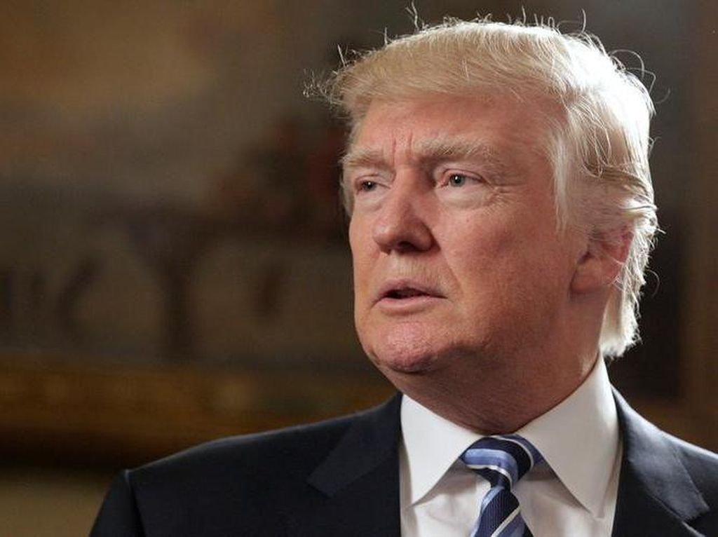 Jabat Presiden AS, Kekayaan Donald Trump Merosot