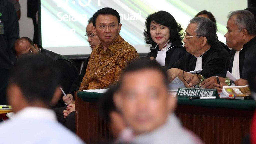 Ditanya Hakim, Pelapor Ralat Tanggal Pidato Ahok di Pulau Seribu