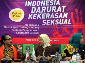 Fraksi PKB Gelar Diskusi Indonesia Darurat Kekerasan Seksual