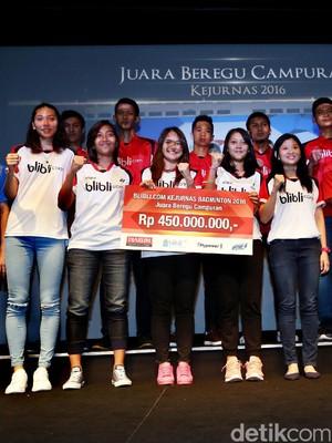 Djarum Foundation Guyur Bonus Atlet Berprestasi 2016