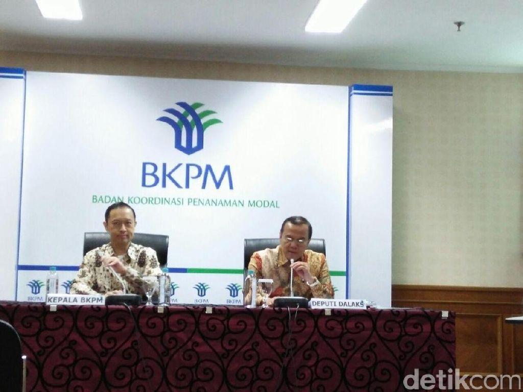 BKPM: Tahun Politik Tak Ganggu Investasi, Tapi Gejolak Rupiah